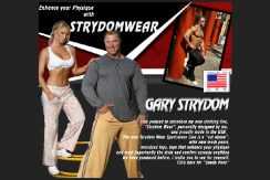 2005 ad for Strydom Wear Design