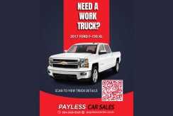 QR codes for Payless Car Sales